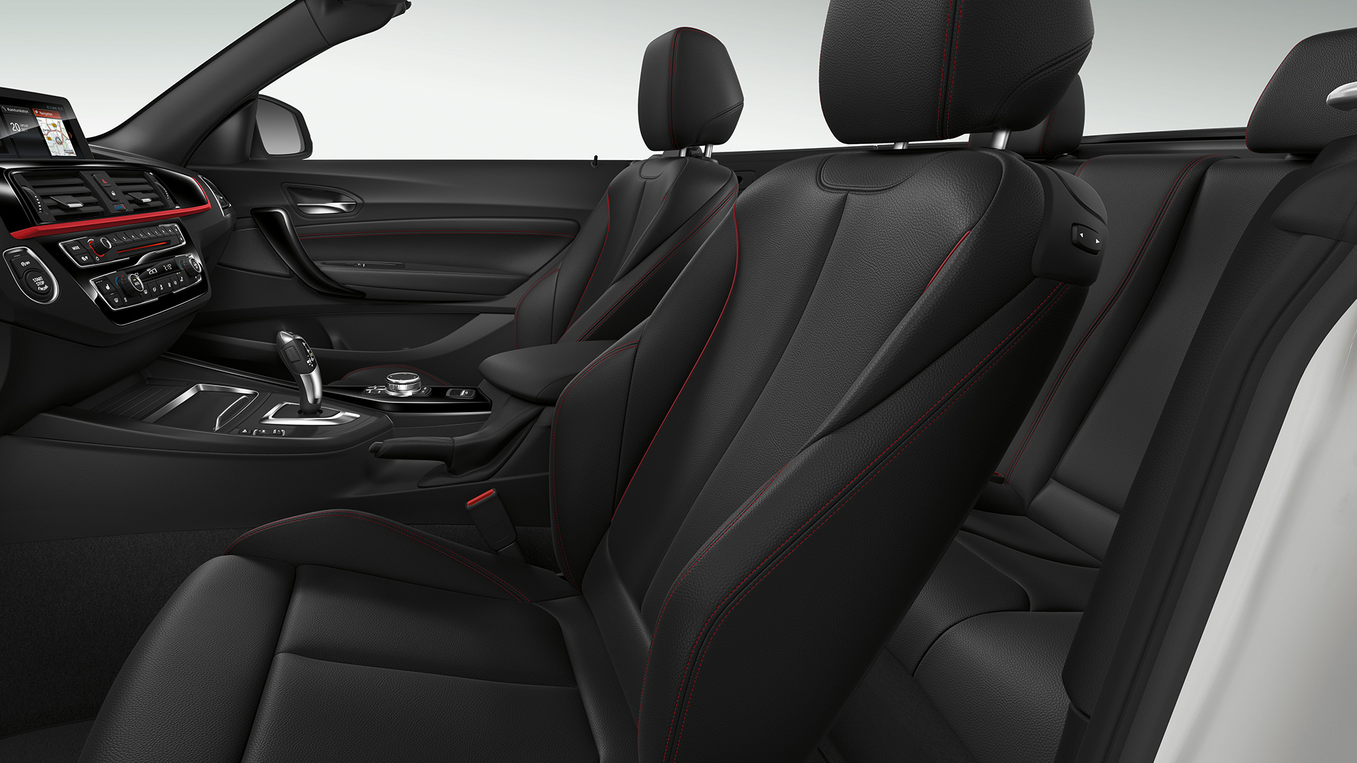 BMW 2 Series Convertible, Model Sport Line interior