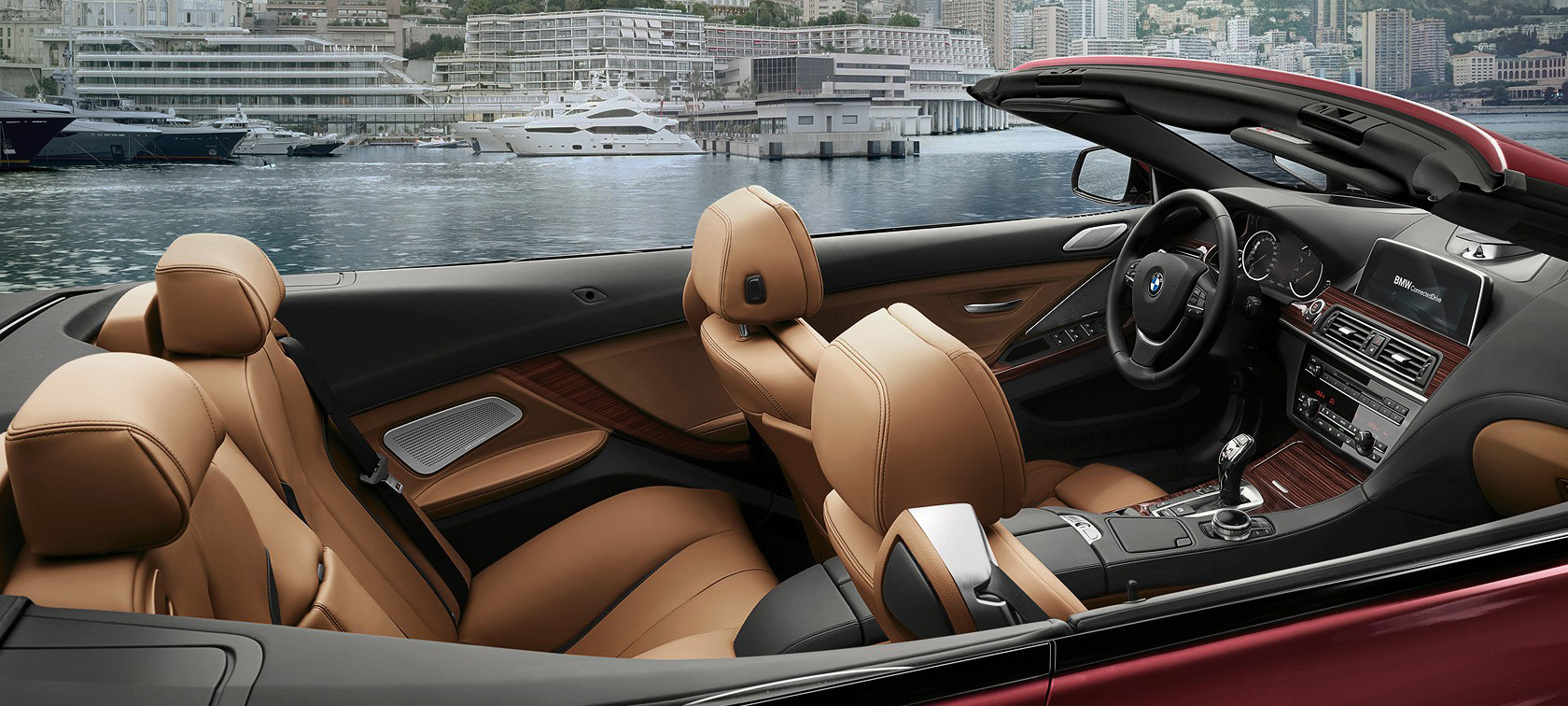 Comfort in the BMW 6 Series Convertible