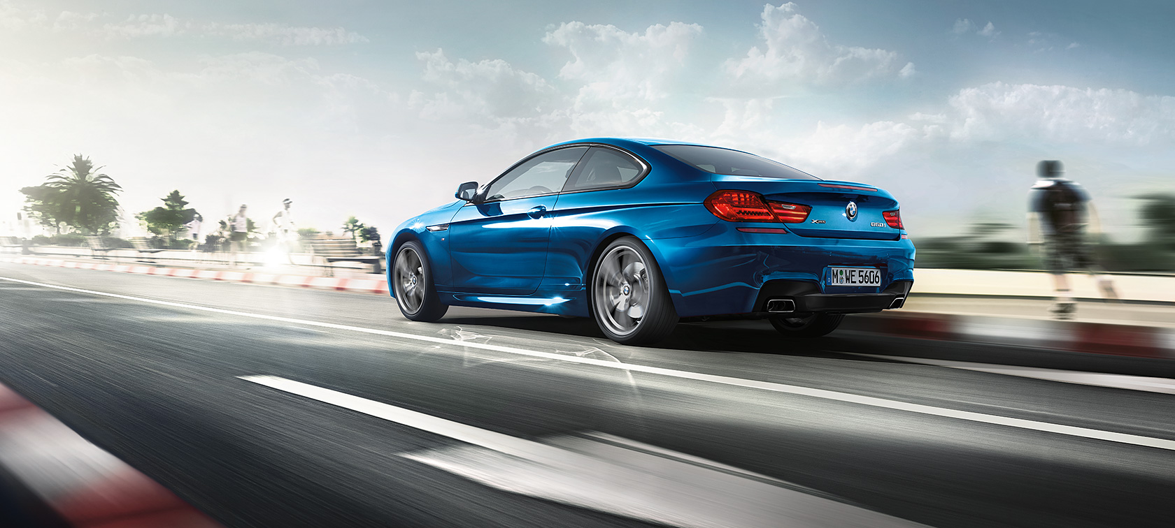 Driving Dynamics & Efficiency of the BMW 6 Series Coupé