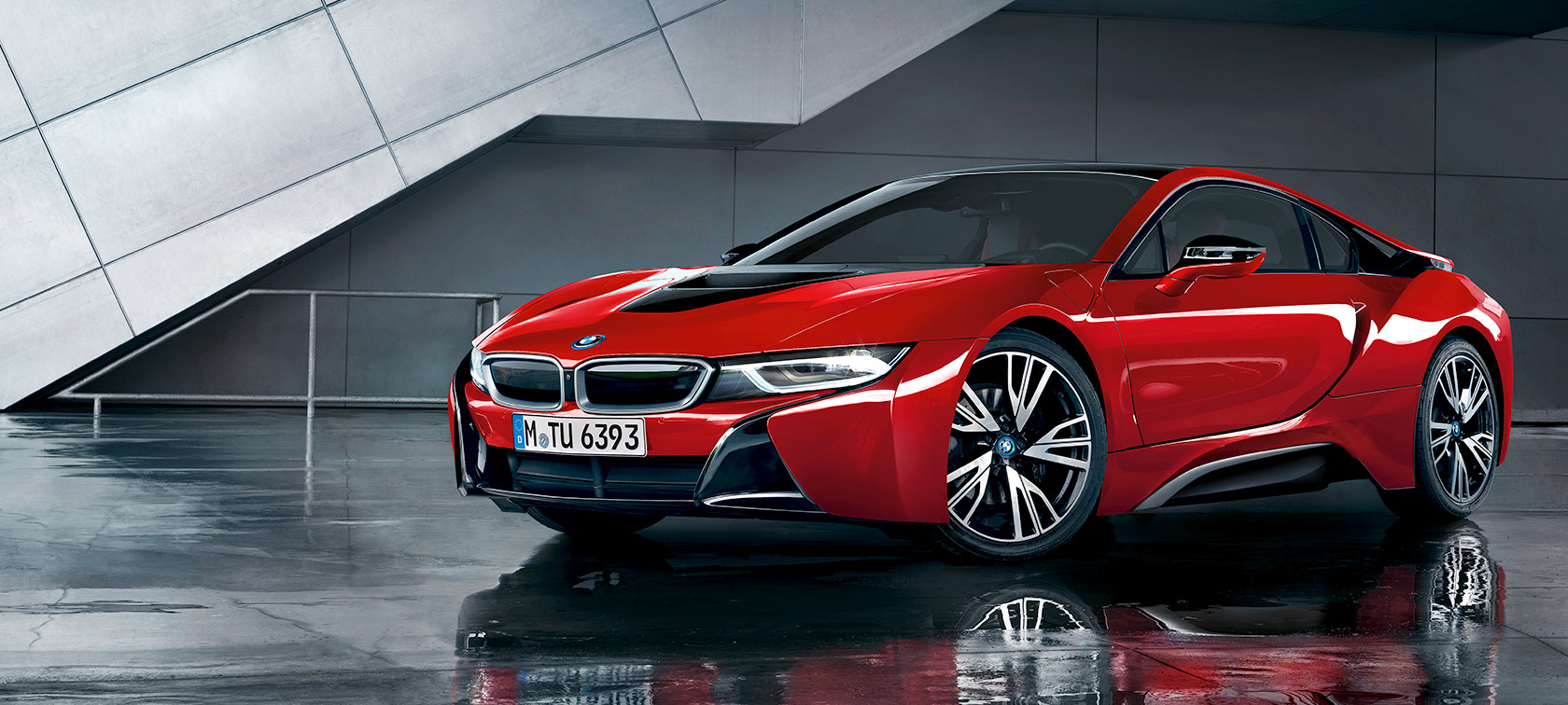 The BMW i8 Protonic Red Edition