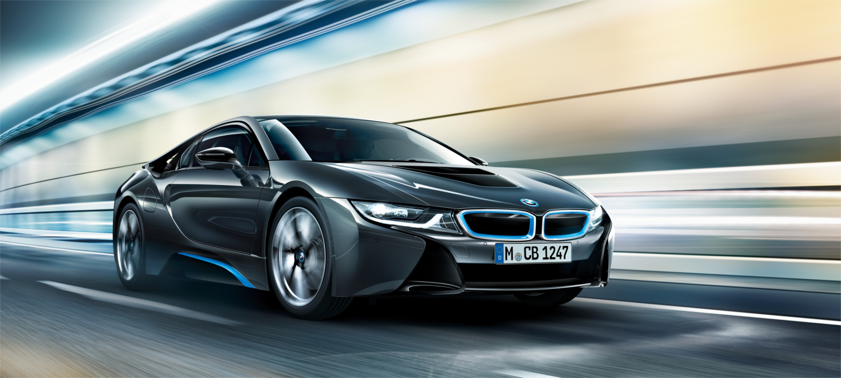 The design of the BMW i8