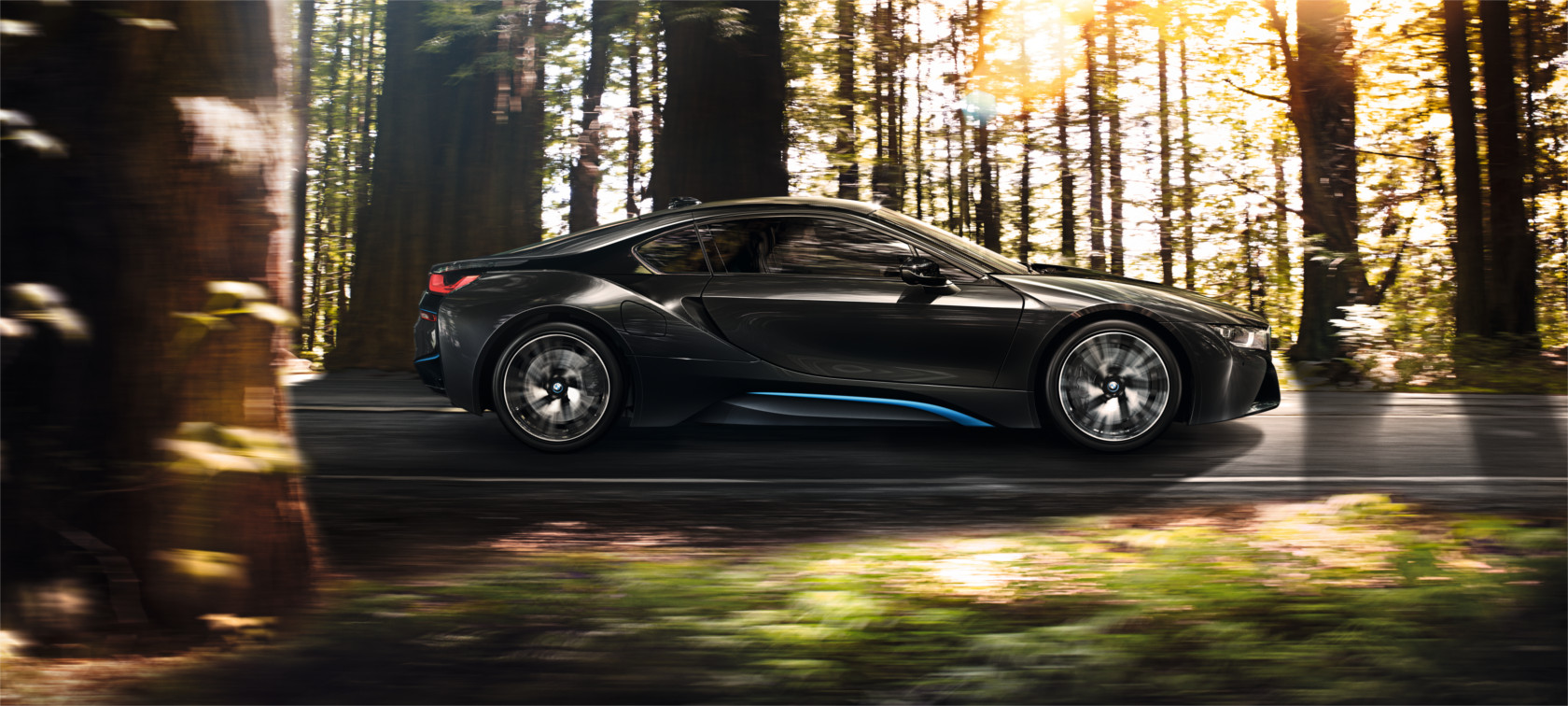 The drive of the BMW i8