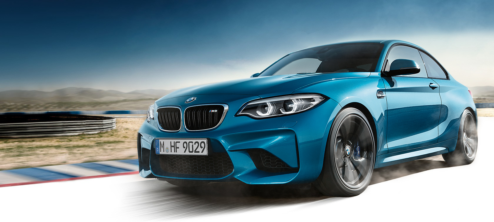 Driving dynamics & efficiency of the BMW M2 Coupé