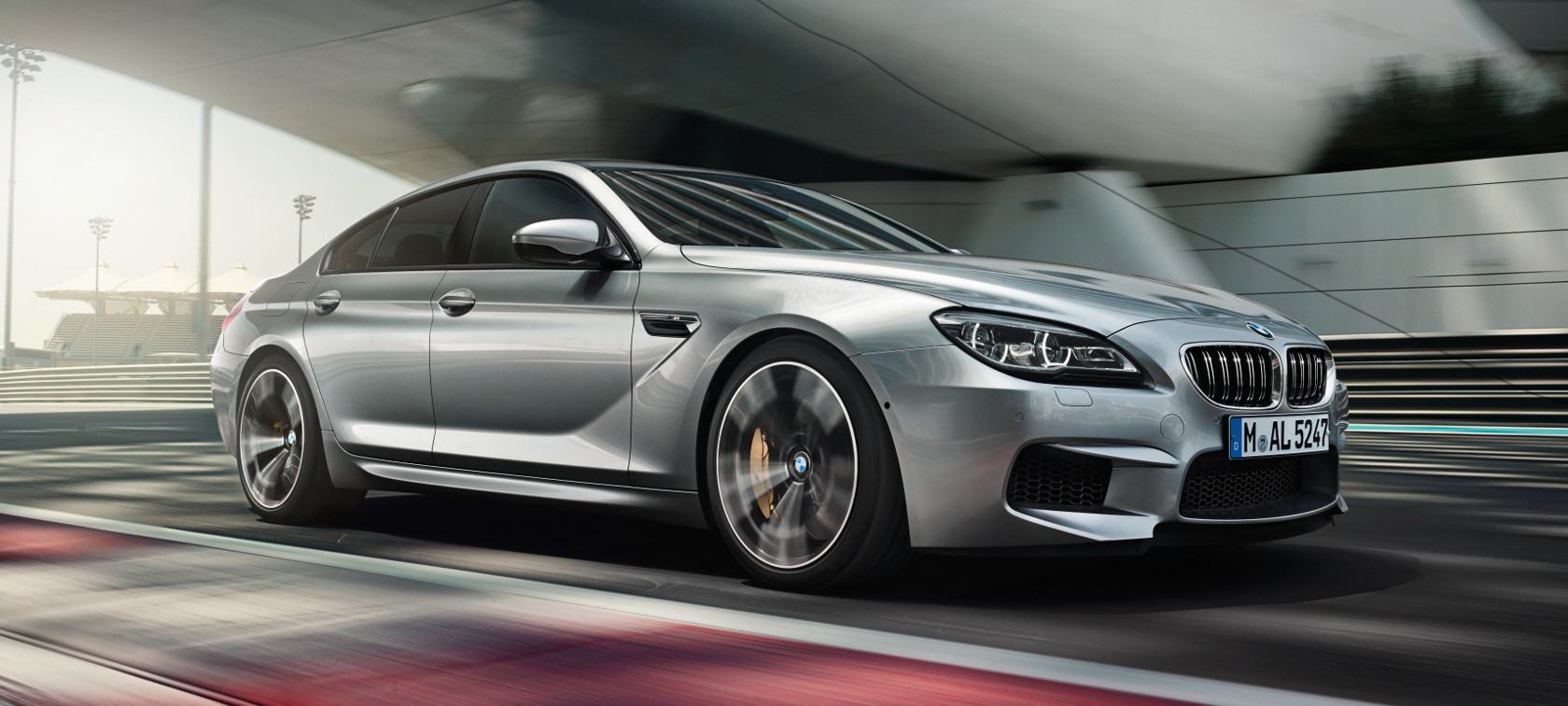 Driving Dynamics & Efficiency in the BMW M6 Gran Coupé